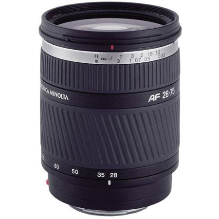 Konica - Minolta 28-75mm f/2.8 D Wide Angle-Telephoto Auto Focus Zoom Lens for the Maxxum & Sony Alpha Mount. image