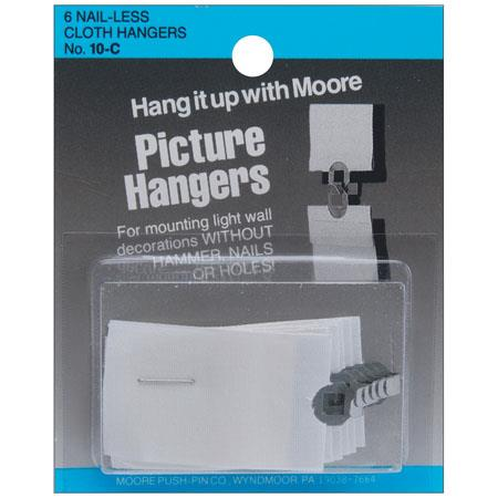 Moore Cloth Interlocking Hanger, 6 Pieces