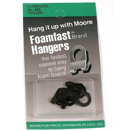 Moore Foamfast Hangers Pender Hangers Pack of 4