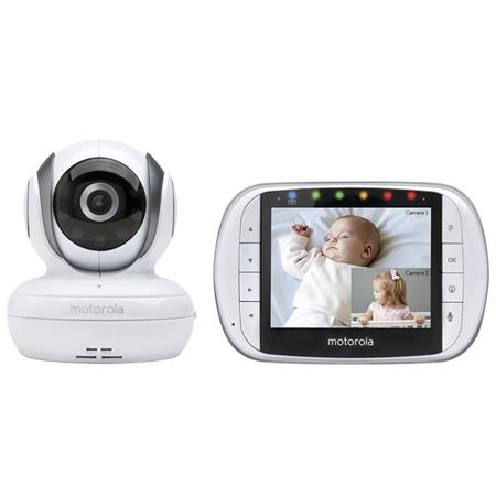 motorola mbp36s remote wireless video baby monitor with 3 5 color lcd screen ptz remote. Black Bedroom Furniture Sets. Home Design Ideas