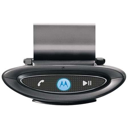 Motorola T505 Bluetooth In-Car Audio Stream Speakerphone and Digital FM Transmitter image