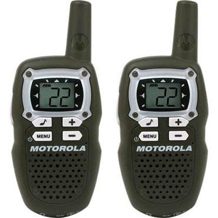 Motorola MB140R Talkabout Two-way Walkie Talkie Rechargeable Radio Set, 10 Miles Range, 7 Shared FRS/GMRS Channels, 7 FRS Channels, 8 GMRS Channels