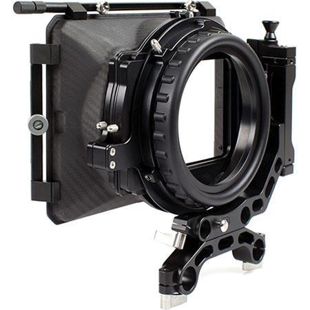 Movcam Movcam Mattebox MM1A for Lenses Upto 14mm (35mm Academy), 144mm Rear Opening, 16:9 Carbon Fiber Housing