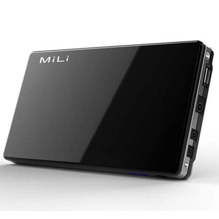 MiLi Power Queen HB-D80 8000mAh External Battery Pack, Black