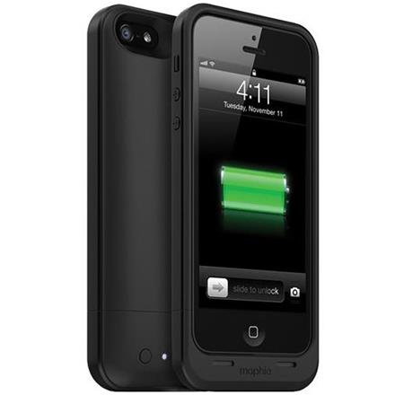 Mophie Juice Pack Air Rechargeable External Battery Case for iPhone 5, Black