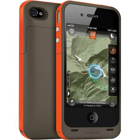 Mophie Juice Pack Plus Outdoor Edition Battery Extender for iPhone 4/4S