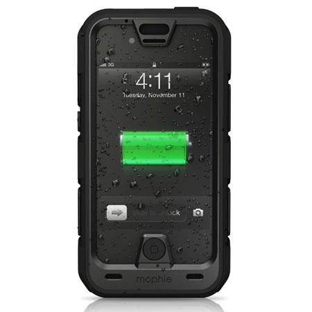 Mophie Juice Pack Pro for iPhone 4/4S, Black