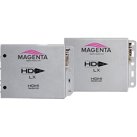 Magenta Research HD-One LX HDMI, IR and RS-232 Extender Kit, 328' (100m) Transmission Distance, 3.4 Gbps Bandwidth