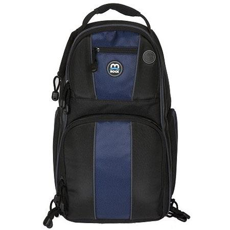 M-Rock Arches 675 Hybrid Backpack / Sling Bag - Black /Navy /Grey image
