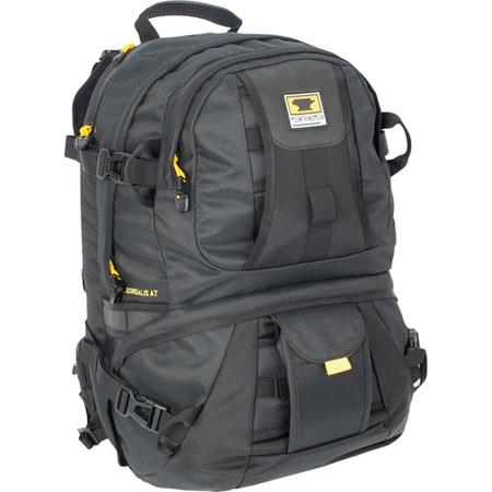 Mountainsmith Borealis AT Recycled Camera Specific Daypack Bag with Hypalon Lens Case Attachment System, Black image