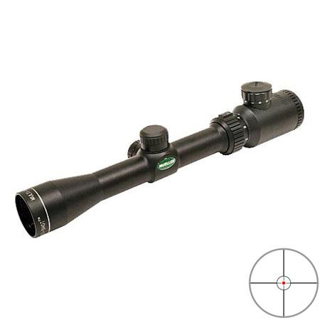 Mueller Optics 2-7x32mm Multi Shot Series Rifle & Shotgun Scope, Matte Black Finish with Illuminated Multi Purpose Cross Hair Reticle.