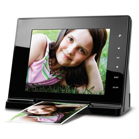 "Mustek PF-A6L 8"" Digital Picture Frame and Scanner"