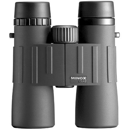 Minox BD 10 x 42 BL, Lightweight Water Proof Roof Prism Binocular with 6.0 Degree Angle of View, U.S.A. image