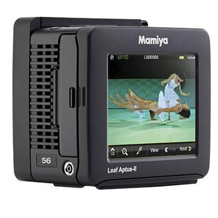 "Mamiya Leaf Aptus-II 56MP Digital Back for Contax 645AF, 3.5"" Touch Screen"
