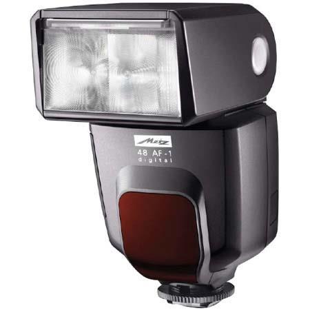 Metz 48 AF-1 Shoe Mount Flash for Canon E-TTL II Compact Digital Cameras, Guide Number 158' image