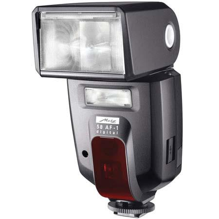 Metz 58 AF-1PS Digial Shoe Mount Flash for Pentax & Samsung Digital SLR's, with PTTL, Wireless function & USB Upgradable, Guide Number 190, ISO 100 ft. image