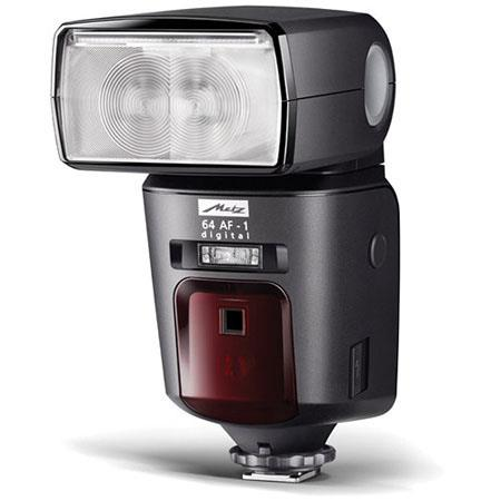 Metz Mecablitz 64 AF-1 Digital Flash for Sony Cameras, 24 - 200mm Automatic Zoom