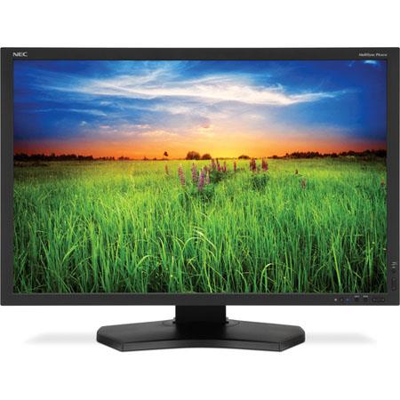 "NEC PA301W 30"" Widescreen Professional Graphics Desktop Monitor, 1000:1 Contrast Ratio, 2560x1600 Resolution, 7 ms Response Time"