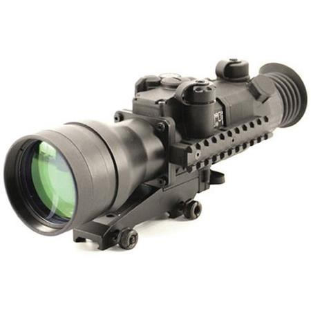 Newcon Optik 6x83 3rd Gen Night Vision Riflescopes, Autogated Intensifier with Black & White Phosphor, Manual Gain Control, Red Mil Dot Reticle, Waterproof