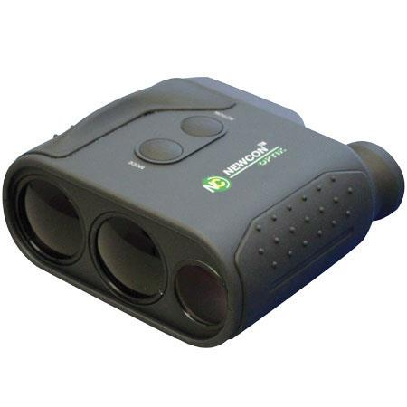 Newcon LRM1500-SPD Laser Range Finder Monocular, with Speed Detector, 1,600 Yard, 1,500 Meter Range - Black Finish