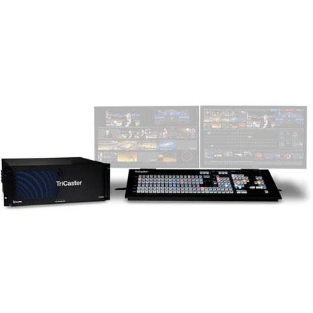 NewTek TriCaster 860 Live Video Production System with Control Surface, Educational Version