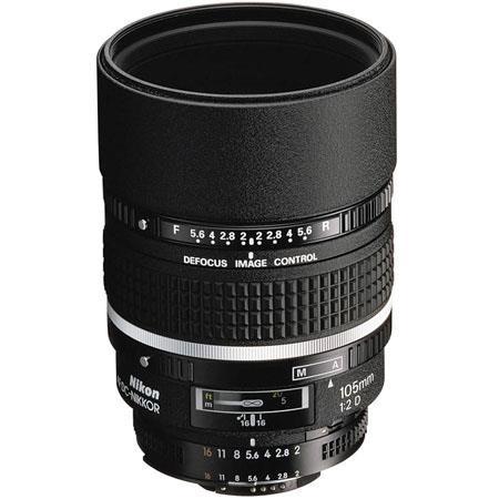 Nikon 105mm f/2 AF-D DC Nikkor Telephoto Lens - Grey Market