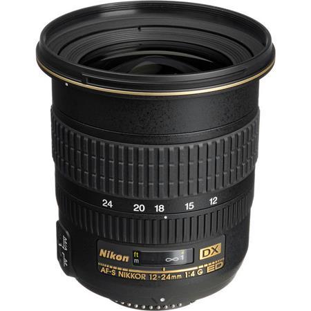 Nikon 12-24mm F/4G ED-IF DX Zoom Lens F/DSLR Cameras - Grey Market