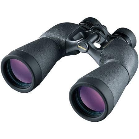 Nikon 12 x 50 Superior E, Weather Resistant Porro Prism Binocular with 5.0 Degree Angle of View, U.S.A. image