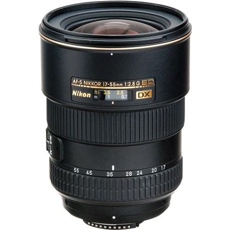 Nikon 17-55mm f/2.8G ED-IF AF-S DX Zoom Lens F/DSLR Cameras - U.S.A. Warranty