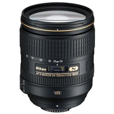Nikon 24-120mm f/4G ED-IF AF-S VR II Vibration Reduction Nikkor Lens - Nikon U.S.A. Warranty