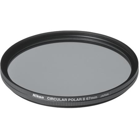 Nikon 67mm Circular Polarizer II Thin Ring Multi-Coated Filter image
