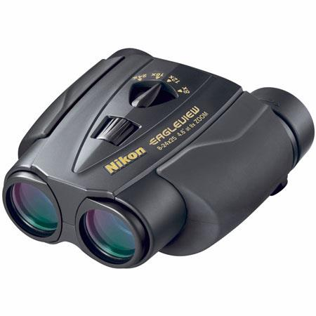 Nikon 8 - 24 x 25 EagleView Zoom, Weather Resistant Porro Prism Binocular with 4.6 Degree Angle of View at 8x, Black, U.S.A. image
