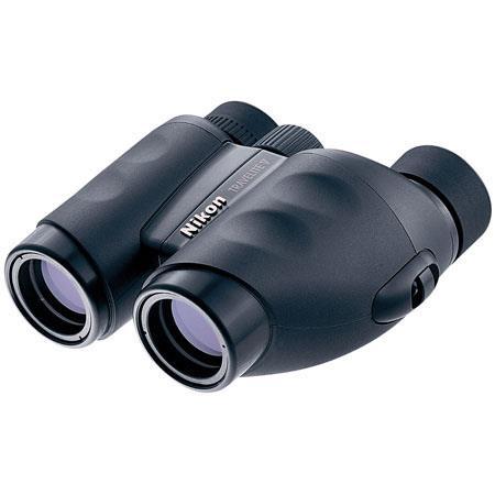 Nikon 8 x 25 Travelite V, Weather Resistant Porro Prism Binocular with 5.6 Degree Angle of View, U.S.A. image
