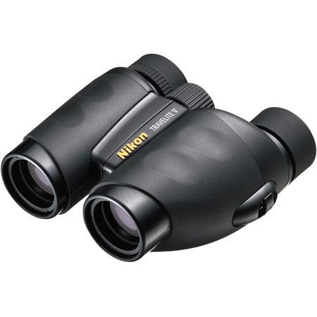 Nikon 9 x 25 Travelite V, Weather Resistant Porro Prism Binocular with 5.6 Degree Angle of View, U.S.A. image