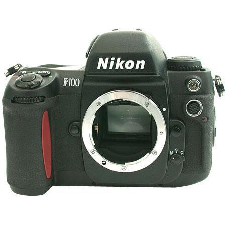 Nikon F100 35mm Autofocus SLR Camera Body - Refurbished By Nikon U.S.A. image