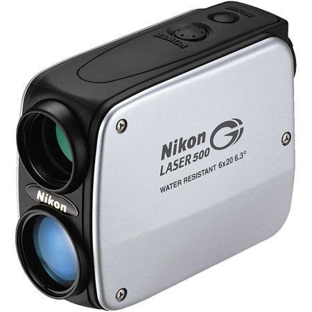 Nikon Laser 500G LaserCaddy Rangefinder with 550 Yard Range. image