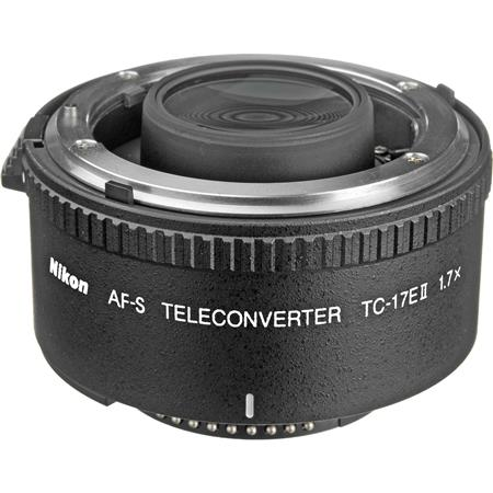 Nikon TC-17E II 1.7x Auto Focus Teleconverter for AF-S & AF-i Lenses - USA Warranty image