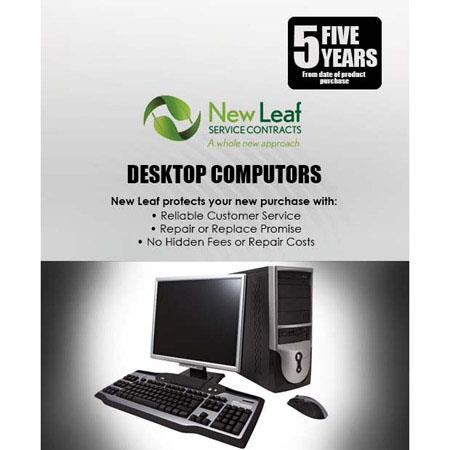Discount Electronics On Sale New Leaf - 5 Year Desktop Computer Service Plan for Product's Retailing up to $4000.00