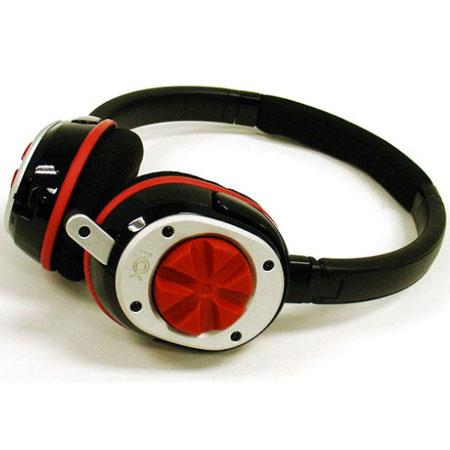 Nox Audio Specialist Red Headset - Compatible with PC's, iPods, iPhones - XBOX 360 and PS3 Compatible with NOX Negotiator