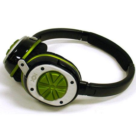 Nox Audio Specialist Green Headset - Compatible with PC's, iPods, iPhones - XBOX 360 and PS3 Compatible with NOX Negotiator