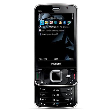 Nokia N96 16GB Unlocked Cellular Phone with GSM Technology, USA Version, Black image