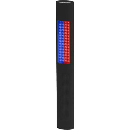 Bayco NIGHTSTICK LED Safety Light and Flashing Blue-Red Floodlight, 150 Lumens CREE LED, 120 Lumens Colored LED Safety Light