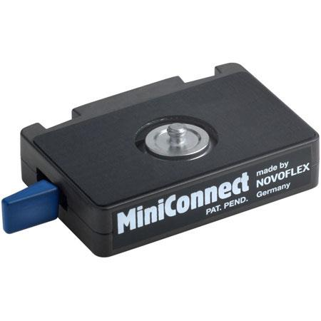 "Novoflex Miniconnect Basic Set: Quick Release Adapter with 1/4""-20 Quick Release Plate #MC image"