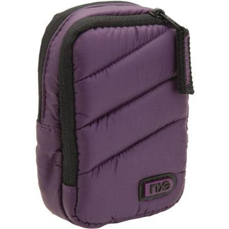 NXE MicroPuff Large Carry Solution for Point & Shoot Cameras, Deep Purple