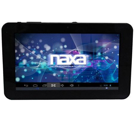 "Naxa Core 7"" LCD Tablet Computer, A20 AllWinner New Dual Core Cortex A7 1.08G, 1GB RAM, 8GB Built-in Flash Memory, Android 4.2 Operating System"