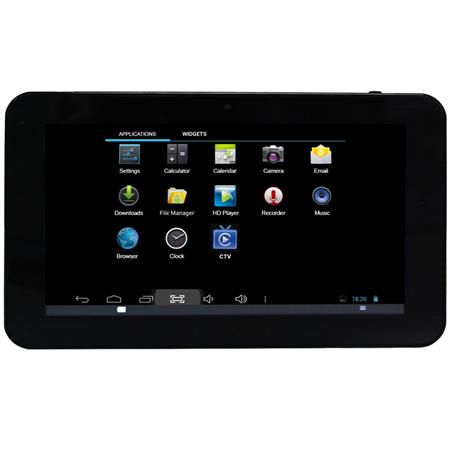 naxa nid 7013 7 core pro tablet with tv tuner 1gb ram 8gb built in memory nid 7013. Black Bedroom Furniture Sets. Home Design Ideas