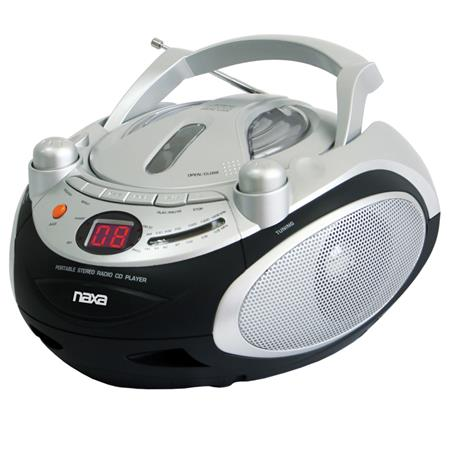 Naxa Portable CD Player & AM/FM Stereo Radio