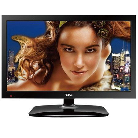"Naxa NT-2207 22"" Widescreen Full 1080P HD LED TV, 1000:1 Contrast Ratio, 350 cd/m2 Brightness, Built-In Digital TV Tuner, HDMI"