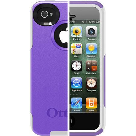 Otterbox Commuter Case for iPhone 4/4S, Purple
