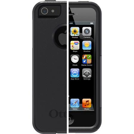 OtterBox Commuter Case for iPhone 5, Black
